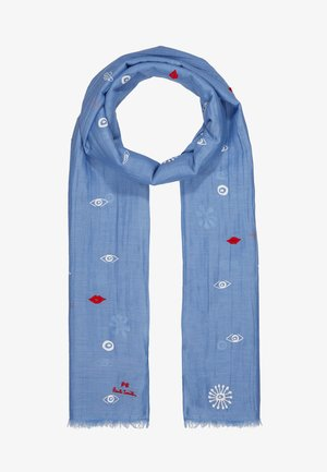 WOMEN SCARF GALAXY - Huivi - light blue