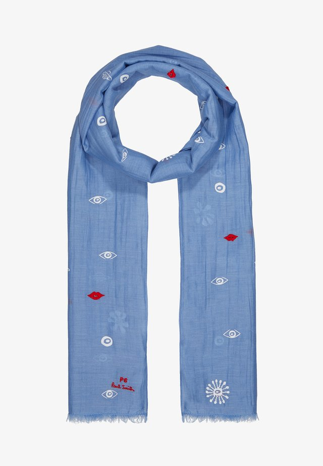 WOMEN SCARF GALAXY - Šála - light blue