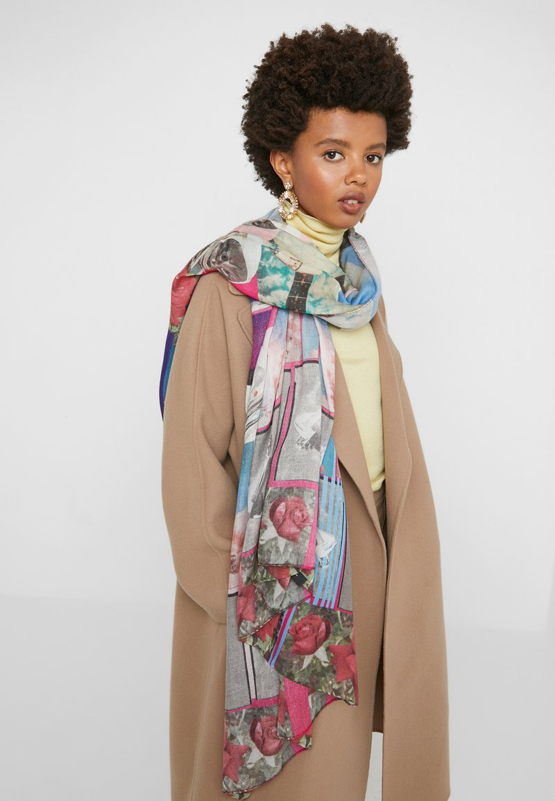 PS Paul Smith - WOMEN SCARF SPACE - Scarf - multi