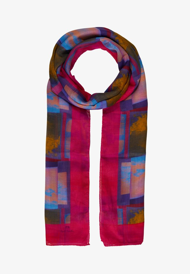 WOMEN SCARF SPACE PHOTO - Foulard - multicolored