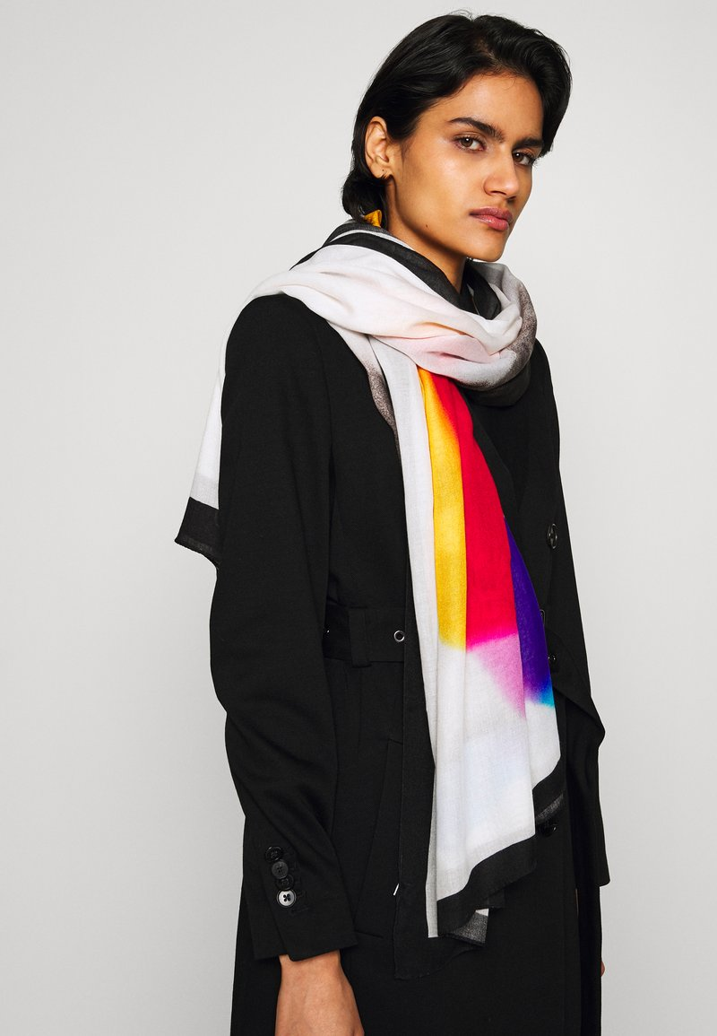 PS Paul Smith - SCARF LUCKY - Scarf - multicolor/white