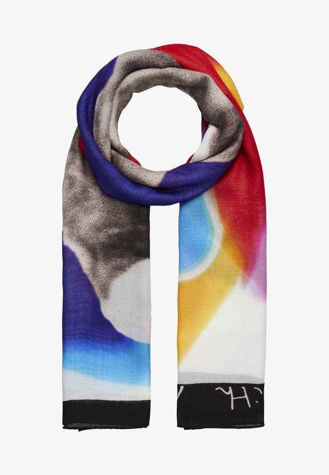 SCARF LUCKY - Sjal - multicolor/white