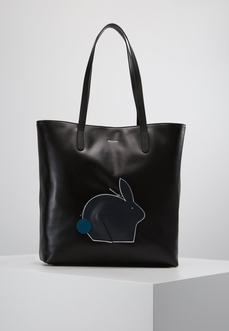 PS Paul Smith - BAG FUN RABBIT - Shopping Bag - black