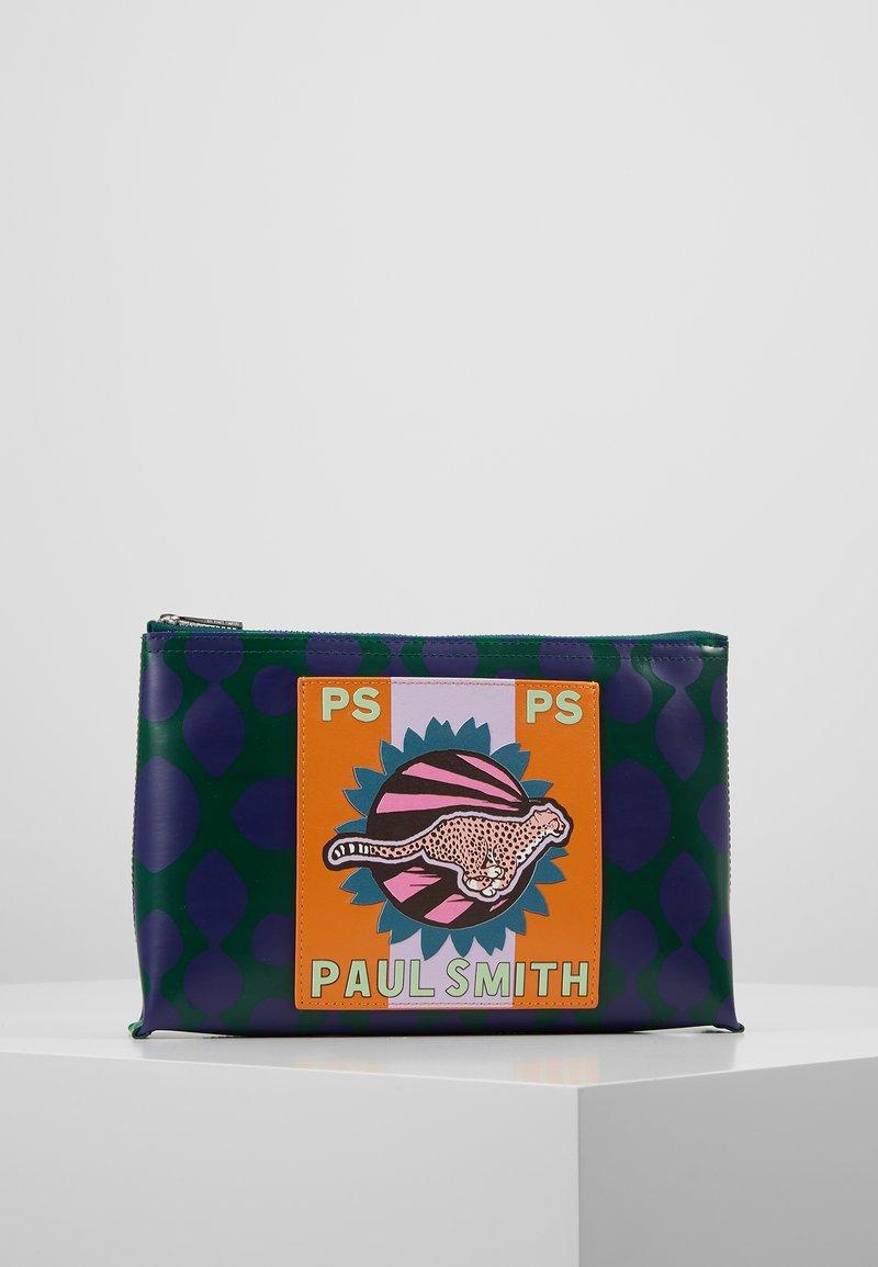 PS Paul Smith - WOMEN BAG CHEETAH POUCH - Clutch - green/blue