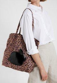PS Paul Smith - WOMEN BAG PACK RABBIT - Tote bag - leo print/black rabbit - 1