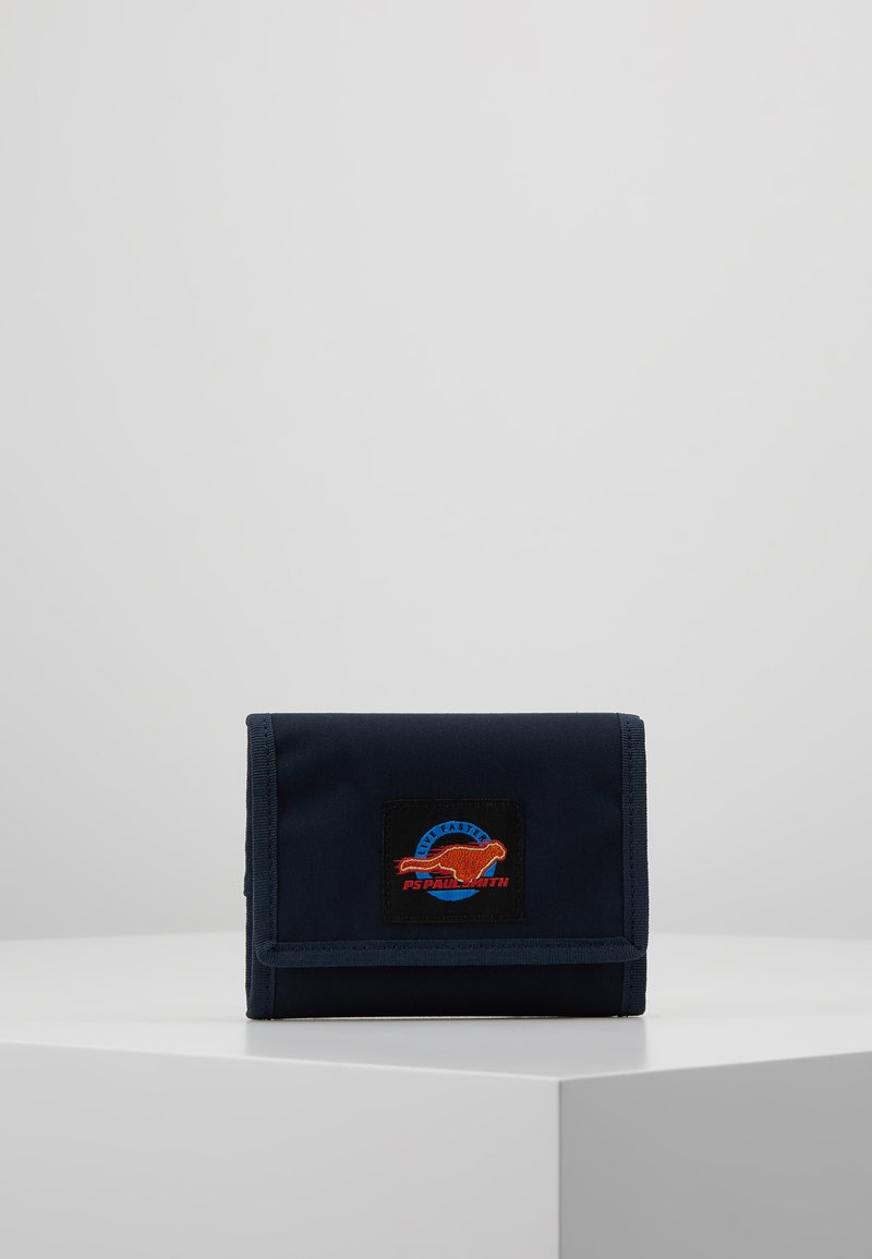 PS Paul Smith - WALLET LIVE FASTER - Lompakko - navy