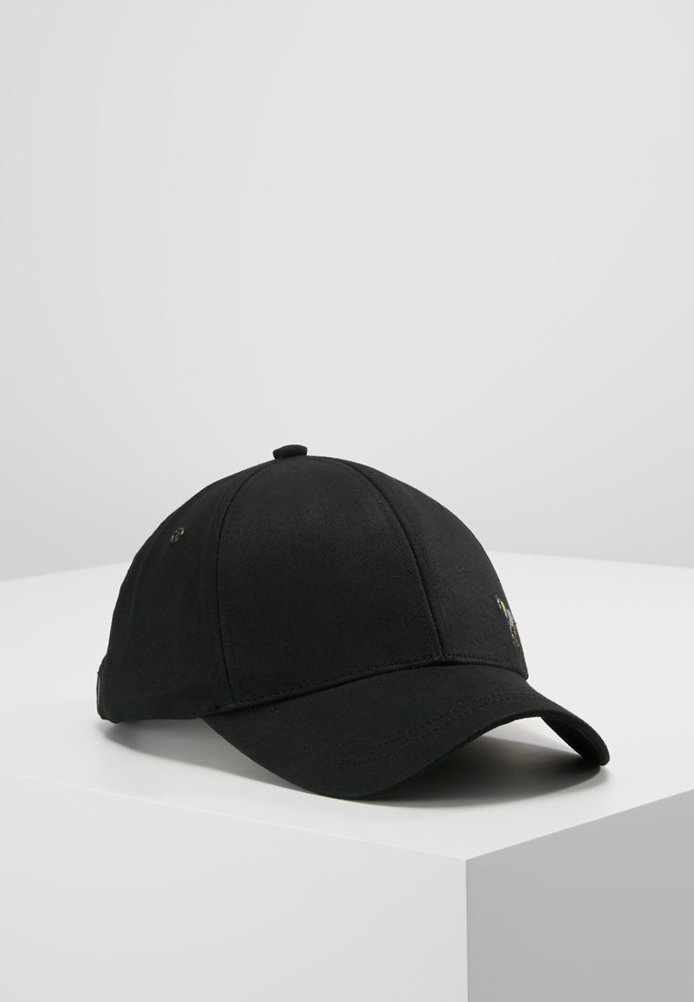 PS Paul Smith - MEN CAP ZEBRA - Lippalakki - black