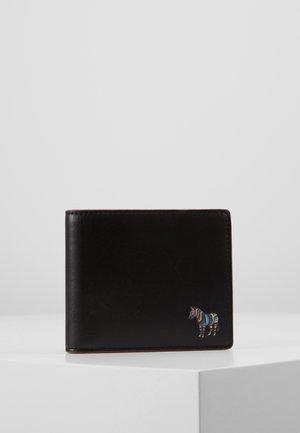 WALLET COIN ZEBRA - Portafoglio - black