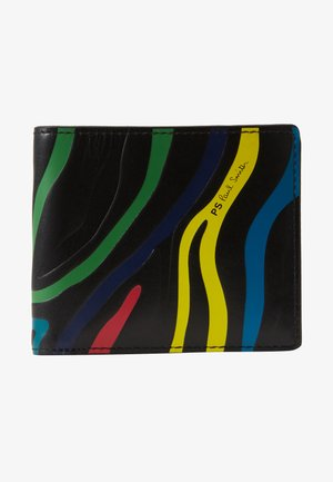 WALLET COIN ZEBRA - Lompakko - black