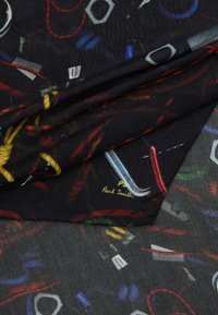 PS Paul Smith - SCARF ROPE PRINT - Schal - black - 1