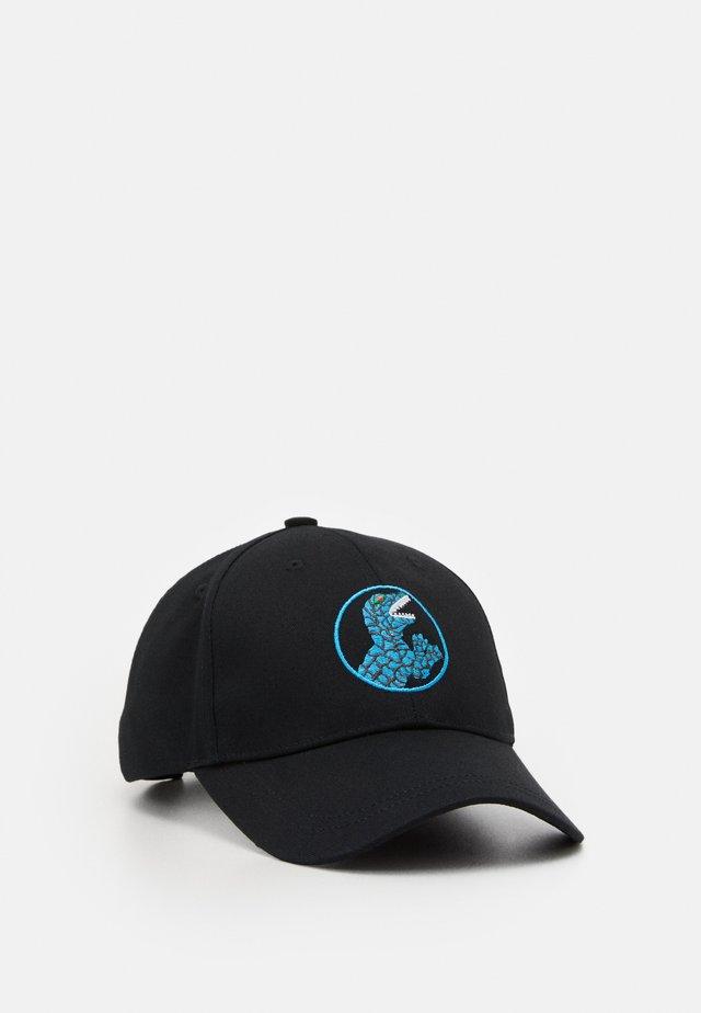 BASEBALL DINO - Caps - black