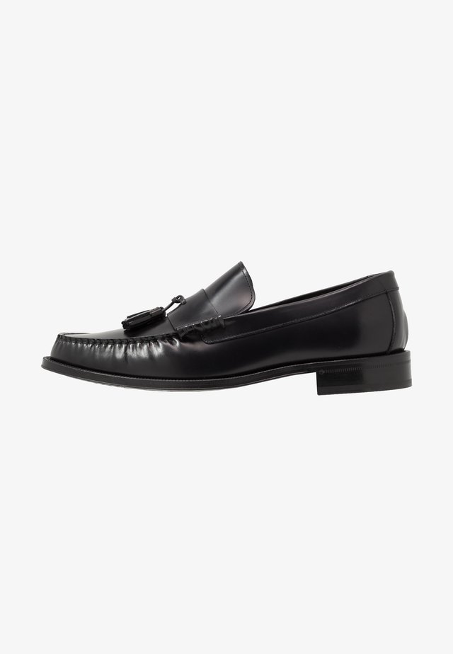 LEWIN - Smart slip-ons - black