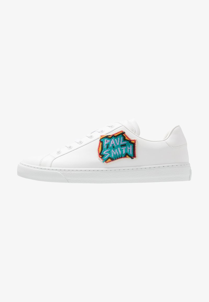 Paul Smith - MENS SHOE HANSEN PATCH EMBROIDERY - Sneaker low - white