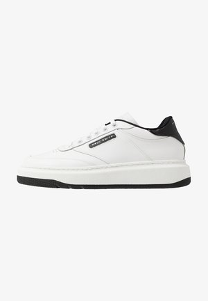 HACKNEY - Matalavartiset tennarit - white/black