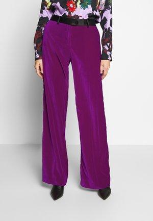 Stoffhose - purple