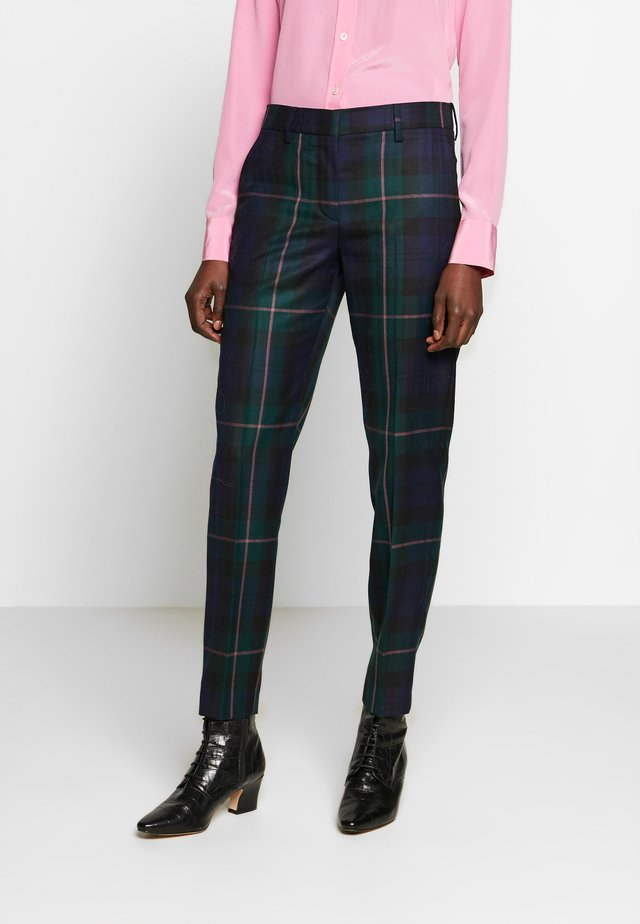 Trousers - green multi