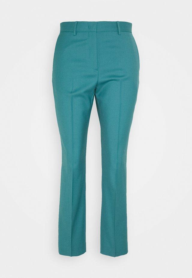 Spodnie materiałowe - turquoise