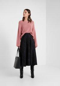 Paul Smith - A-line skirt - black - 1