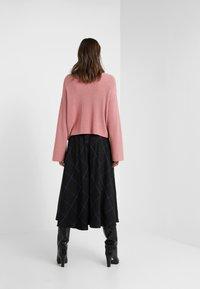 Paul Smith - A-line skirt - black - 2