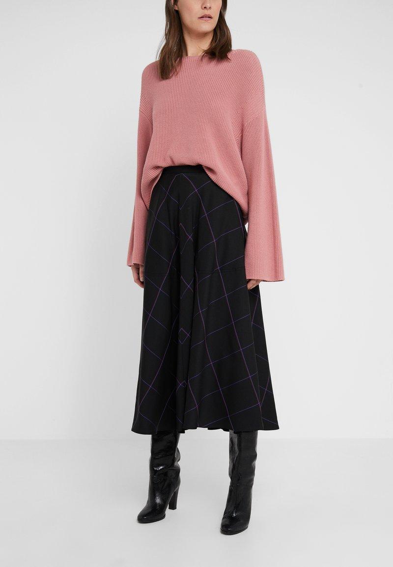 Paul Smith - A-line skirt - black