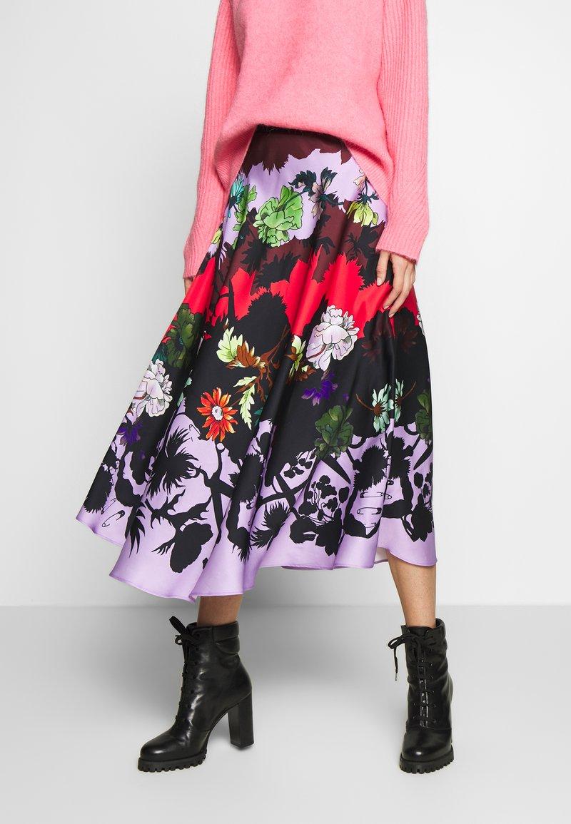 Paul Smith - A-line skirt - multi