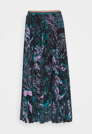 WOMENS PLEATED SKIRT - A-line skirt - blue