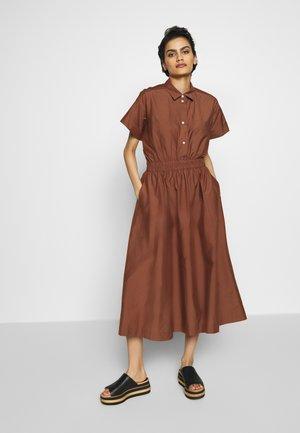 Robe chemise - rusty