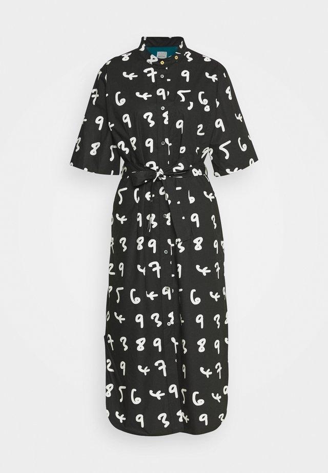 WOMENS DRESS - Blusenkleid - black