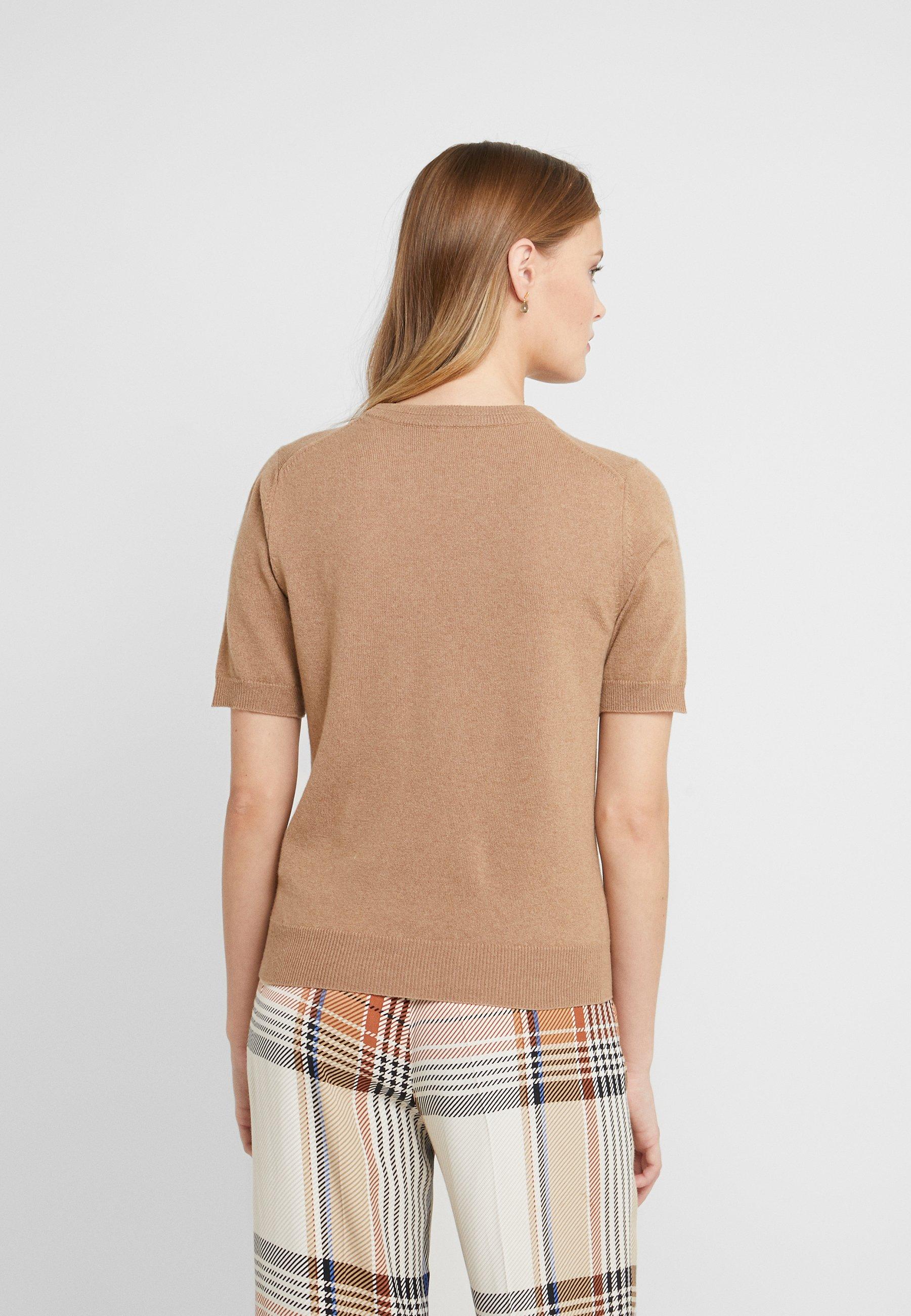 Paul Smith T-shirt z nadrukiem - beige