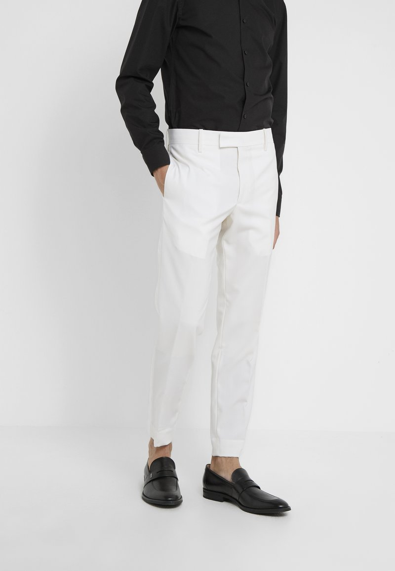 Paul Smith - GENT FORMAL TROUSER - Kostymbyxor - white