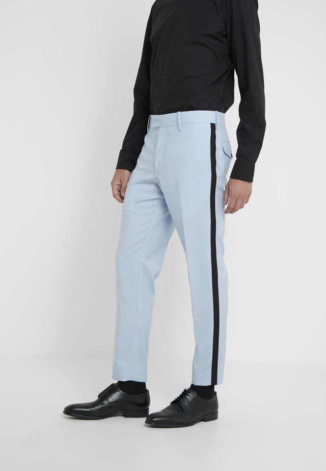 GENT FORMAL TROUSER - Spodnie garniturowe - light blue