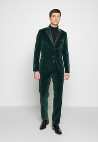 Paul Smith - GENTS TAILORED FIT EVENING SUIT SET - Oblek - dark green - 1