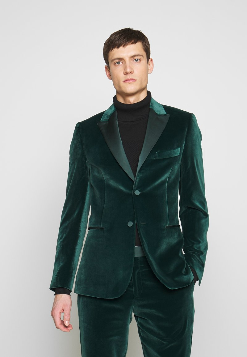 Paul Smith - GENTS TAILORED FIT EVENING SUIT SET - Oblek - dark green