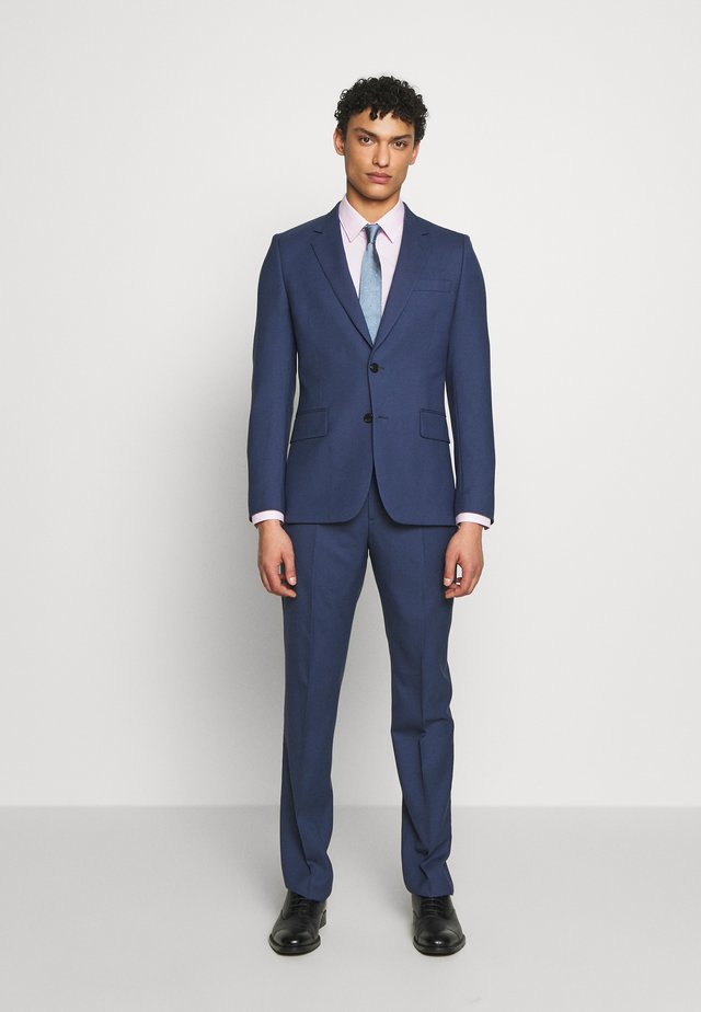 GENTS TAILORED FIT BUTTON SUIT - Dress - dark blue