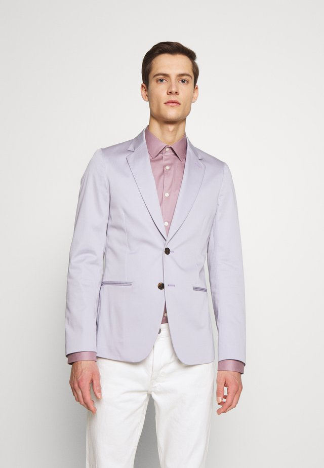 GENTS TAILORED FIT JACKET - Marynarka - lilac