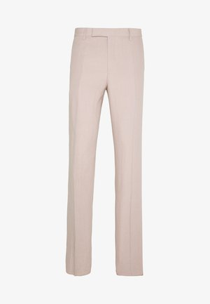 GENTS SLIM FIT TROUSER - Anzughose - mottled pink