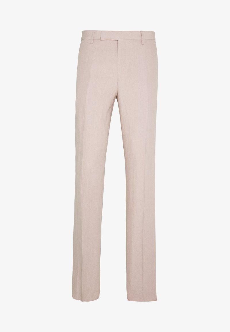 Paul Smith - GENTS SLIM FIT TROUSER - Oblekové kalhoty - mottled pink