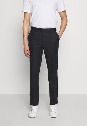 GENTS SLIM FIT TROUSER - Suit trousers - dark blue
