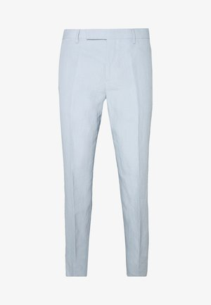 GENTS SLIM FIT TROUSER - Pantalón de traje - light blue