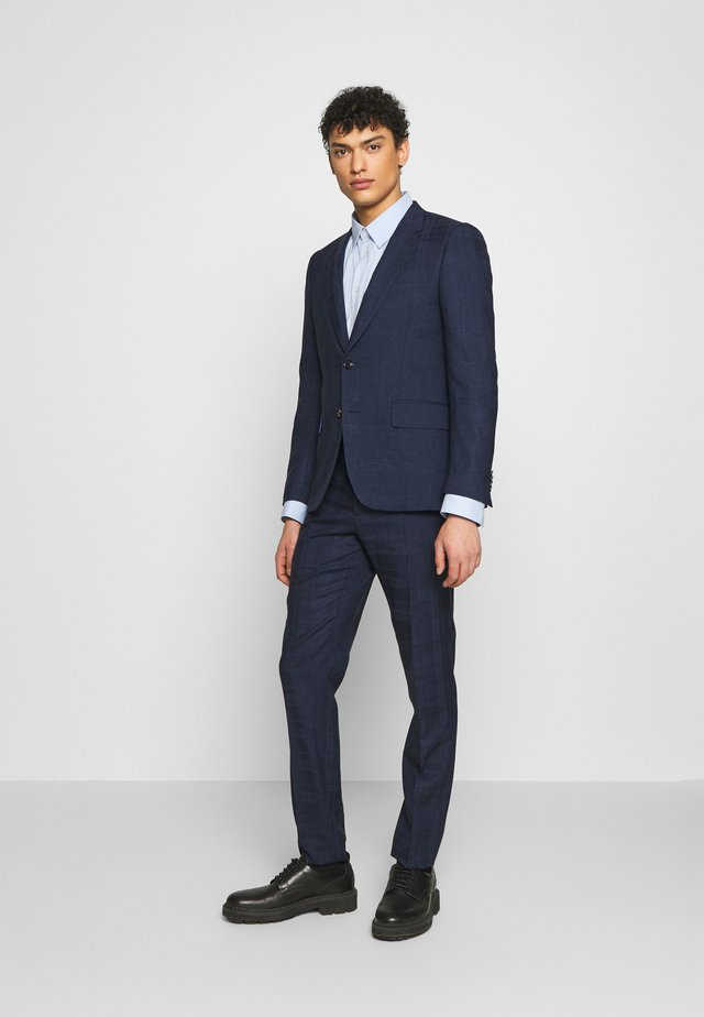 GENTS TAILORED FIT BUTTON SUIT SET - Kostym - dark blue