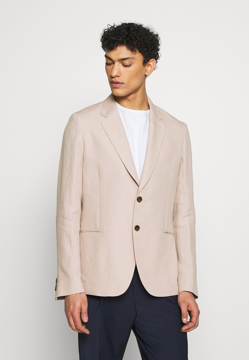 Paul Smith - GENTS TAILORED FIT JACKET - Americana - mottled pink