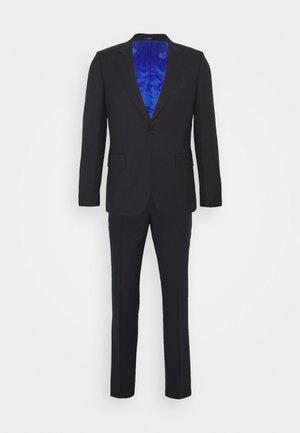 GENTS TAILORED FIT BUTTON SUIT - Kostuum - dark blue