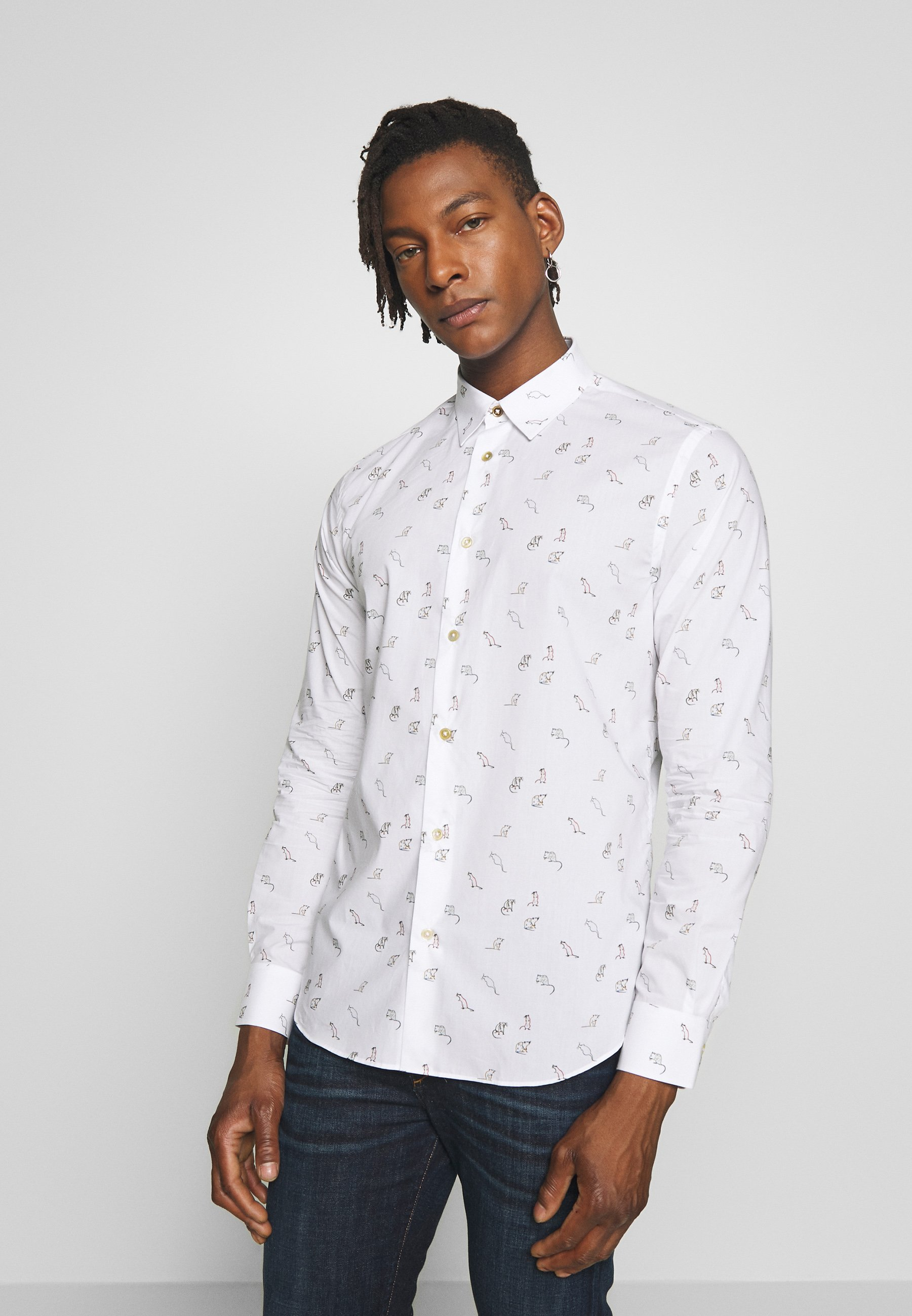 Paul Smith SLIM FIT - Koszula - white