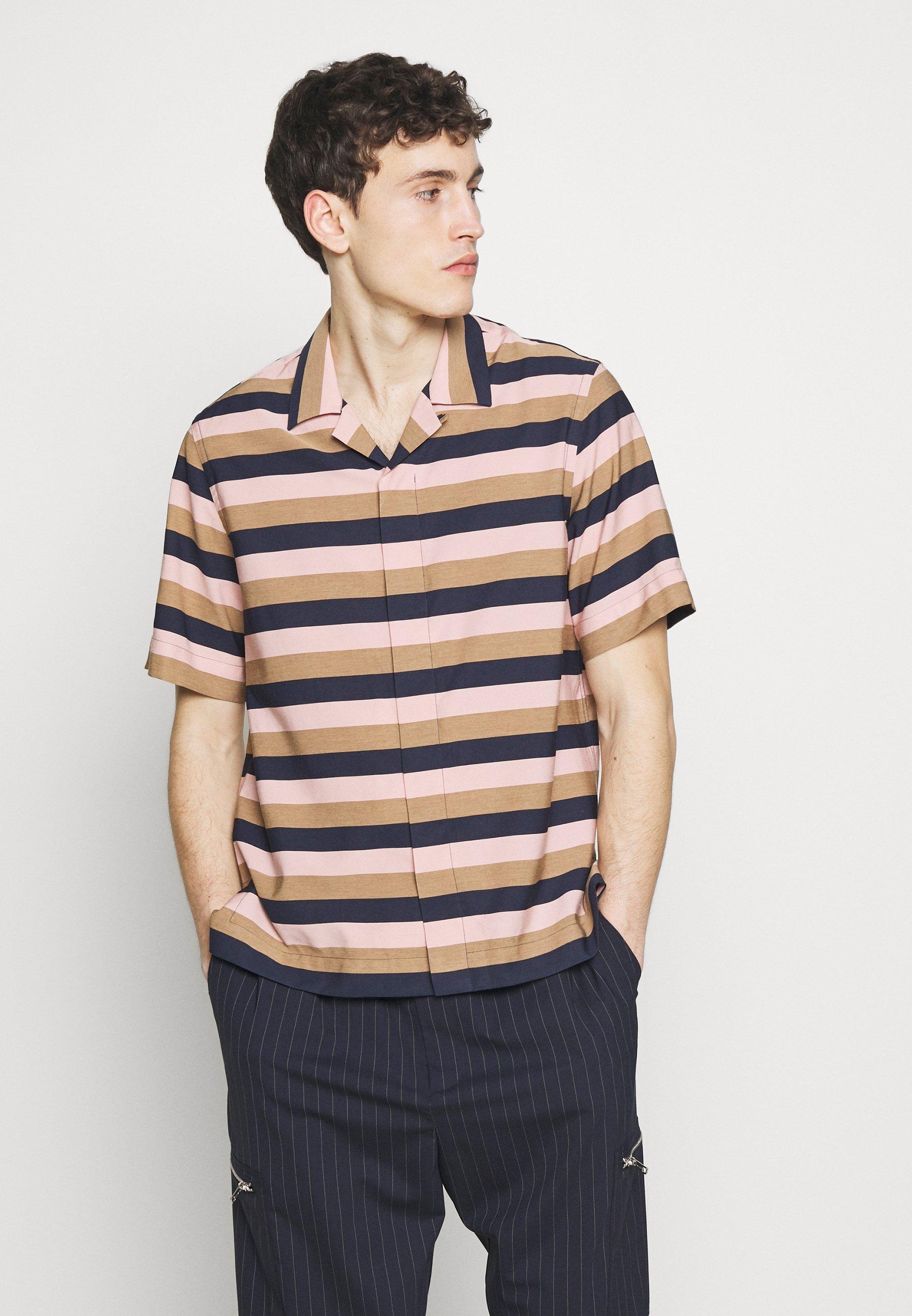 Paul Smith SOHO STRIPED - Koszula - lilac