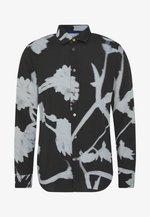 GENTS SLIM SHIRT - Shirt - black