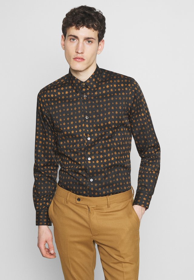 GENTS SLIM SHIRT STARS - Košile - dark blue