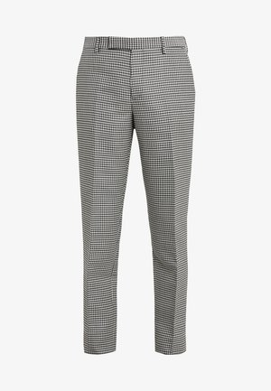 SOHO TROUSER - Pantalones - black/grey