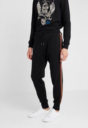 GENTS TAPED SEAM - Pantalon de survêtement - black