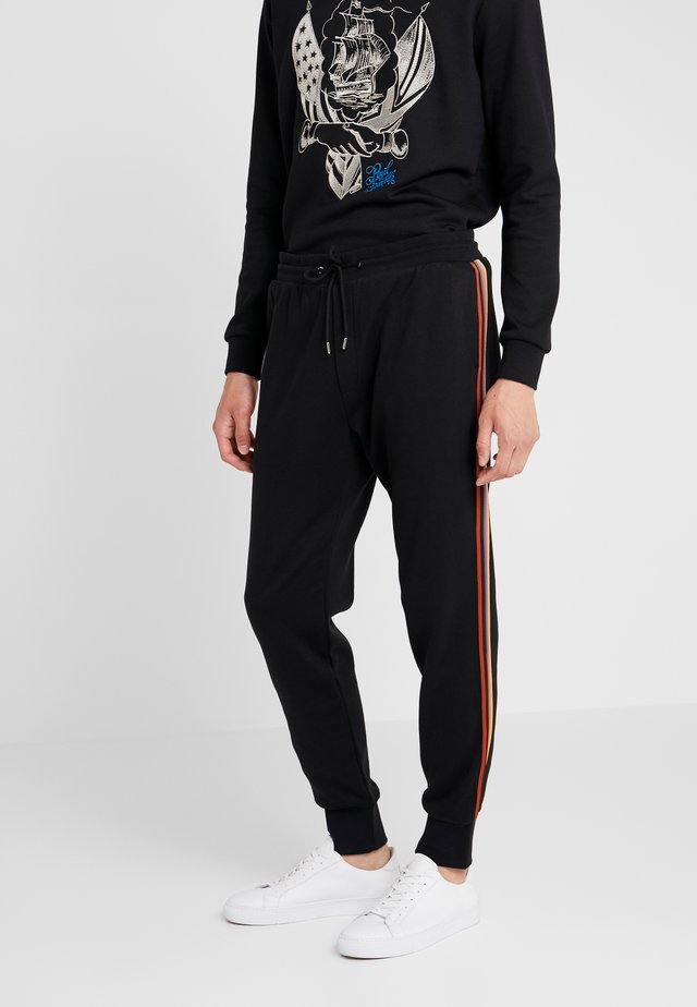 GENTS TAPED SEAM - Jogginghose - black