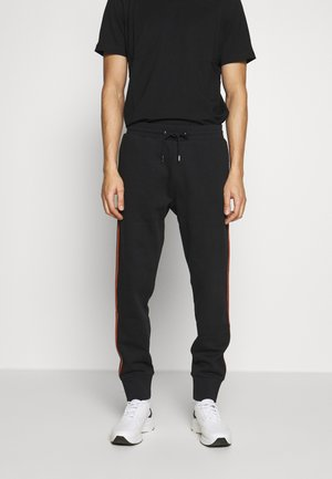 GENTS TAPED SEAM - Tracksuit bottoms - black